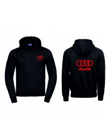 Audi, musta huppari
