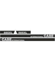 CASE INTERNATIONAL 885XL