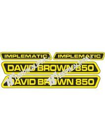 David Brown 850 Implematic