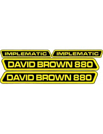 David Brown 880 Implematic