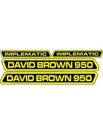 David Brown 950 Implematic