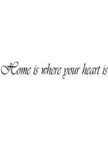 Home is where your...