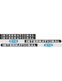 International 574