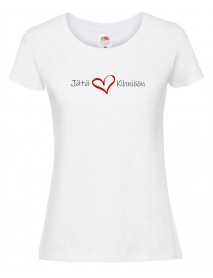 Jätä Sydämesi Kihniöön T-paita, naisten malli, 2 väriä