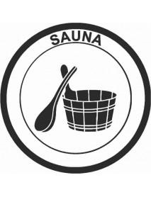 Sauna ympyrä kiululla