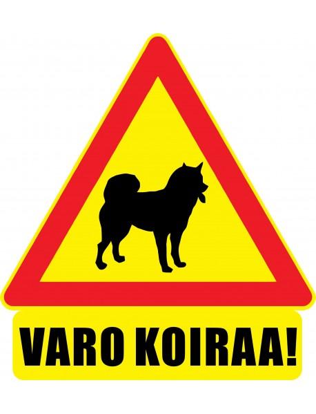 Varo koiraa magneettitarra. Saatavana myös heijastavana.